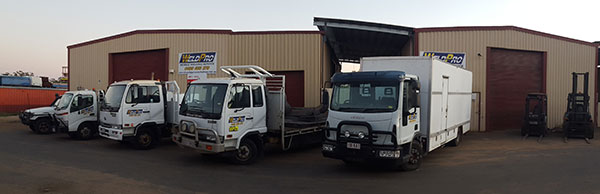 Weldpro has a fleet of vehicles which allows for professional welding operations throughout central queensland.